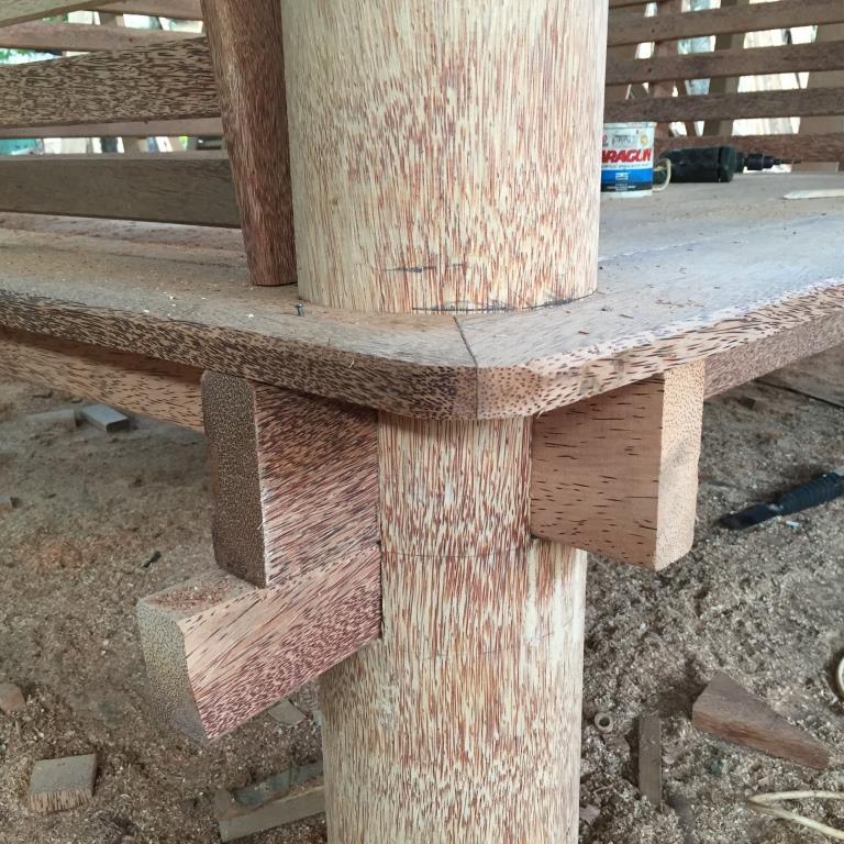 Proses Pembuatan Gazebo di gudang ARINIE GAZEBO √ desain taman belakang rumah dengan gazebo
