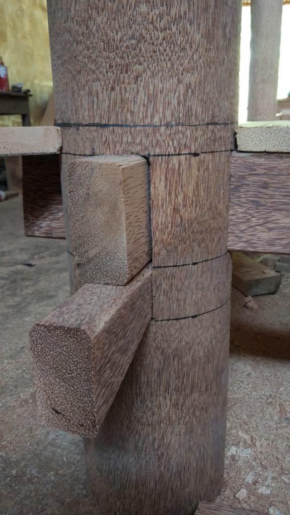 Proses Pembuatan Gazebo di gudang ARINIE GAZEBO √ gazebo untuk taman minimalis