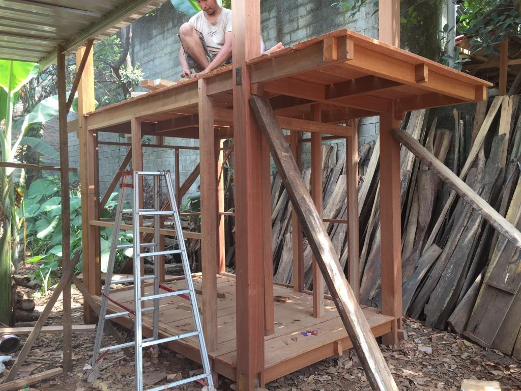 Proses Pembuatan Gazebo di gudang ARINIE GAZEBO √ gazebo dan taman minimalis