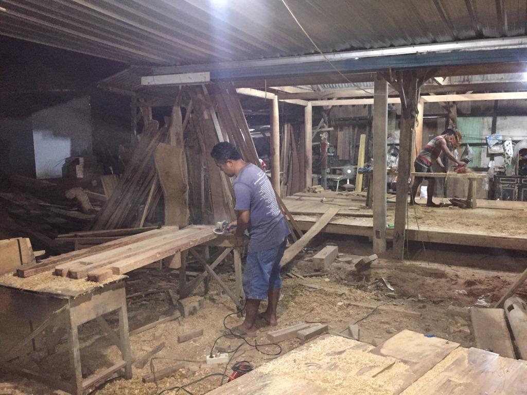 Proses Pembuatan Gazebo di gudang ARINIE GAZEBO √ gazebo minimalis untuk taman