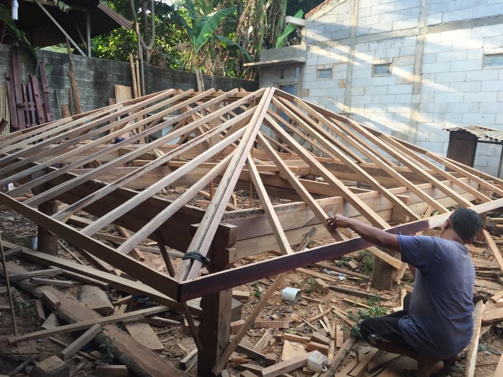 Proses Pembuatan Gazebo di gudang ARINIE GAZEBO √ gazebo di taman depan rumah
