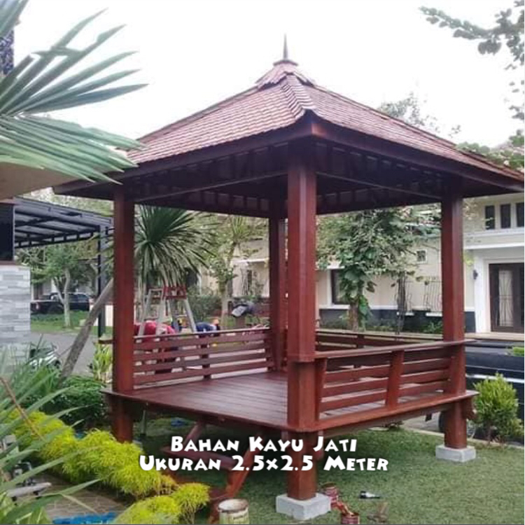 Gazebo Bondowoso ☎ 0852-2748-6411