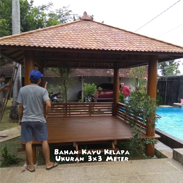 Gazebo Sidrap Bogor ☎ 0852-2748-6411