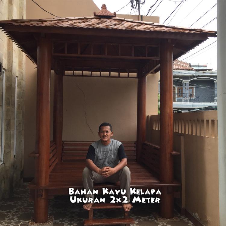 Pengrajin Gazebo Kayu ☎ 0852-2748-6411