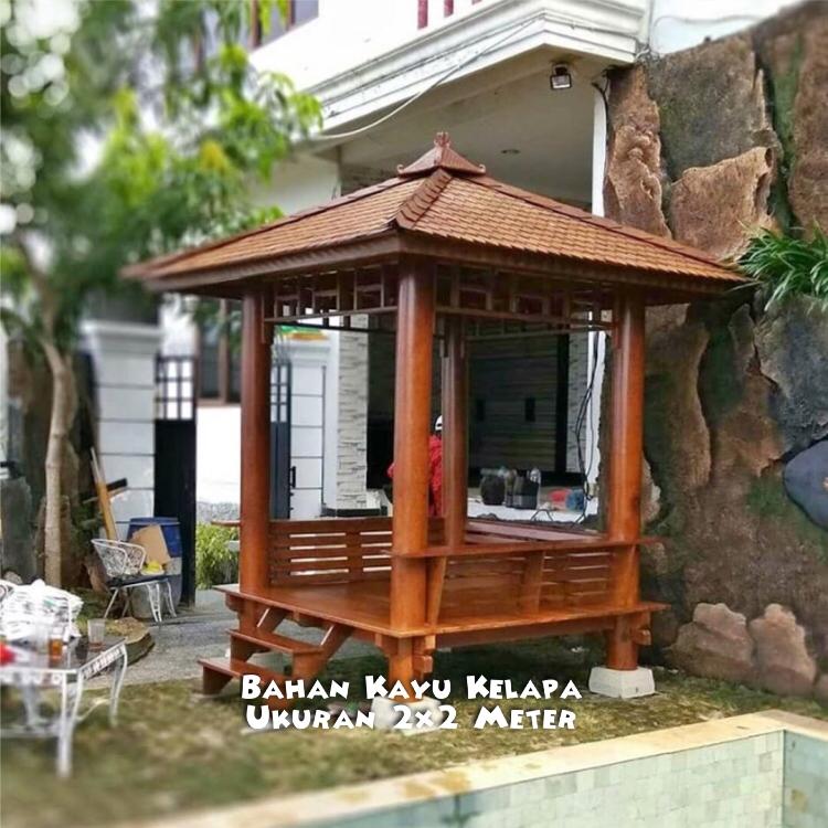 Harga Gazebo Pohon Kelapa Jawa Tengah ☎ 0852-2748-6411