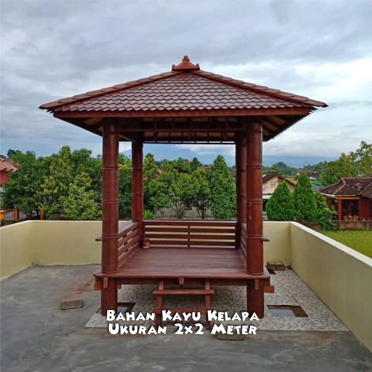Gazebo Kayu Temanggung ☎ 0852-2748-6411