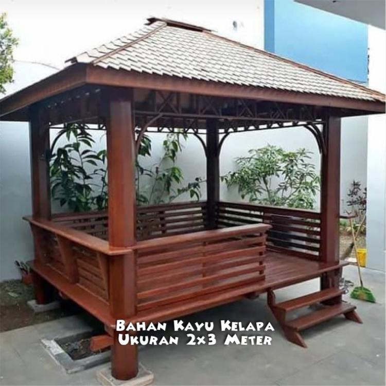 Saung Gazebo Pekalongan ☎ 0852-2748-6411