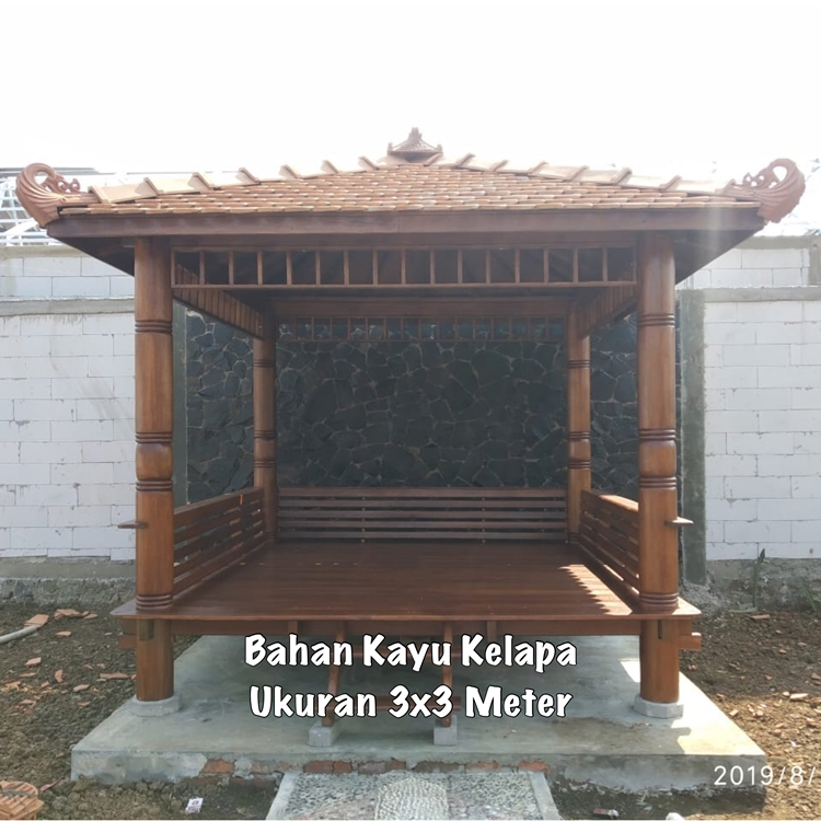 Gazebo Taman Depan Kendal ☎ 0852-2748-6411